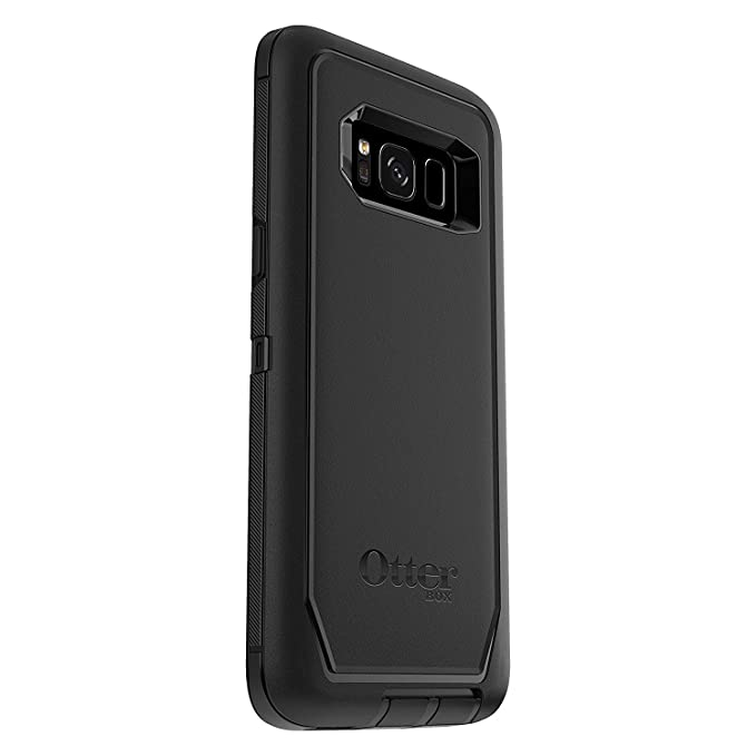 sale retailer 978e5 9d0cb OtterBox Defender Series for Samsung Galaxy S8+ Plus (Screen Protector NOT  Included) - Bulk Packaging - Black - (Case Only - Holster Not Included)