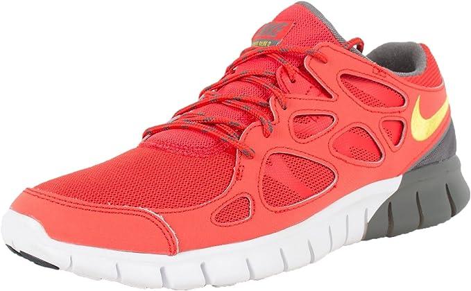 Nike hombres Free Run 2 LtCrmsn/Brght Ctrn/blanco/Blk Running zapatos 10.5 Men US: Amazon.es: Deportes y aire libre