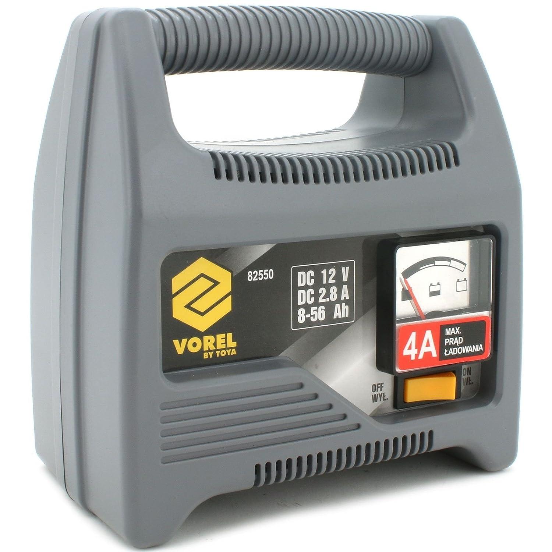 VOREL 82550 - cargador de baterí a 4a Yato