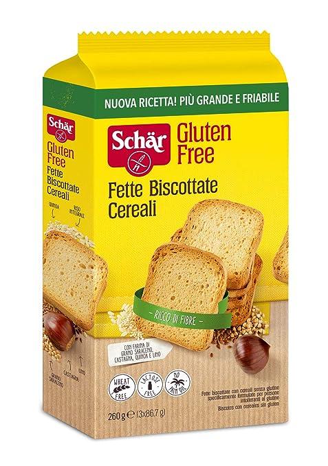 Schär Fette Biscottate Cereali - 260 g: Amazon.es: Amazon Pantry
