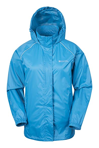Mountain Warehouse Pakka Womens Waterproof Packable Jacket with ...