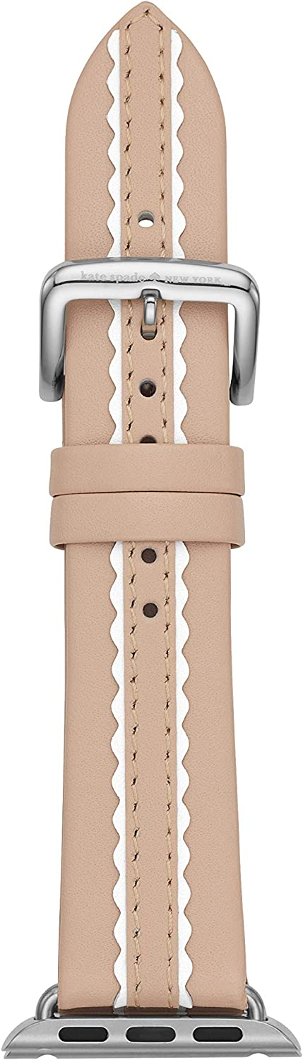 Kate Spade New York Interchangeable Band Compatible with Your 42/44MM Apple Watch- Straps for use with Apple Watch Series 1,2,3,4,5
