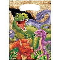 Creative Converting PC085012 dinosaurus partij behandelt zakken-8 stuks, dino blast, één maat