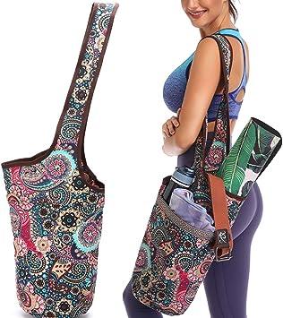 Amazon.com: FODOKO - Bolsa para esterilla de yoga con ...