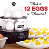 Dash DEC012BK Deluxe Rapid Egg Cooker Electric