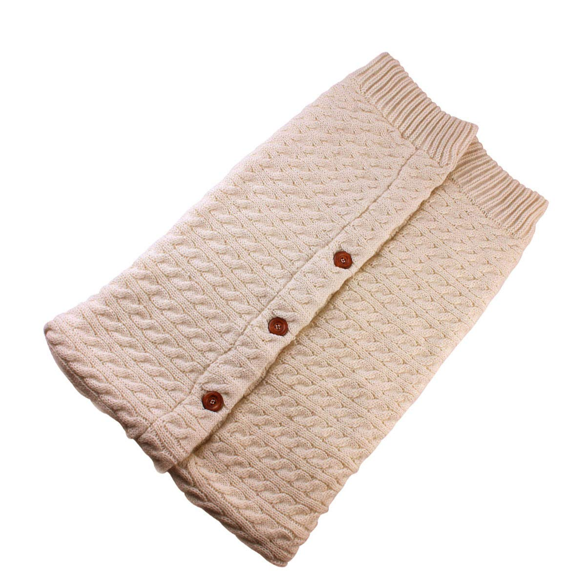 Amazon.com: Newborn Baby Swaddle Blanket Fleece Stroller Wrap Nap Blanket Plus Velvet,Baby Kids Toddler Thick Knit Soft Warm Blanket Swaddle Sleeping Bag ...