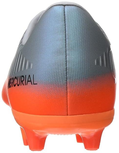 Nike Mercurial Vapor XI CR7 AG-Pro, Botas de fútbol Unisex para Niños, (Cool Mtlc Hematite/Wolf Grey/Total), 36.5 EU: Amazon.es: Zapatos y complementos