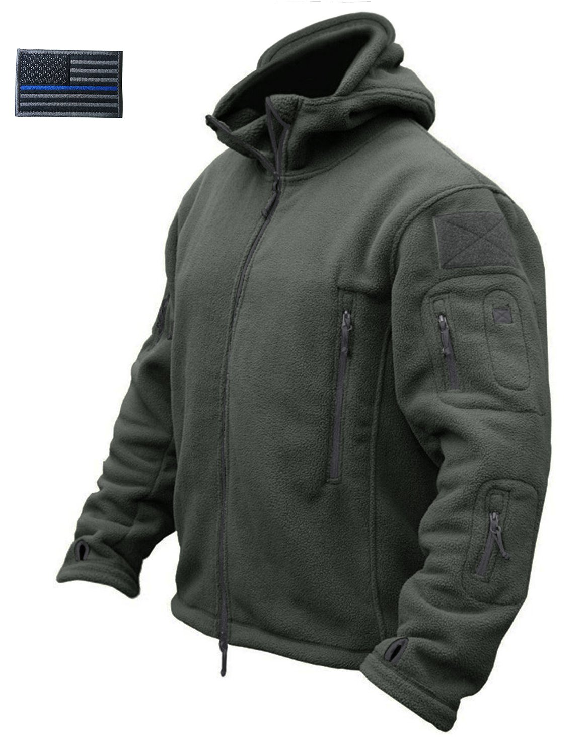 CRYSULLY Men's Autumn Winter Military Tactical