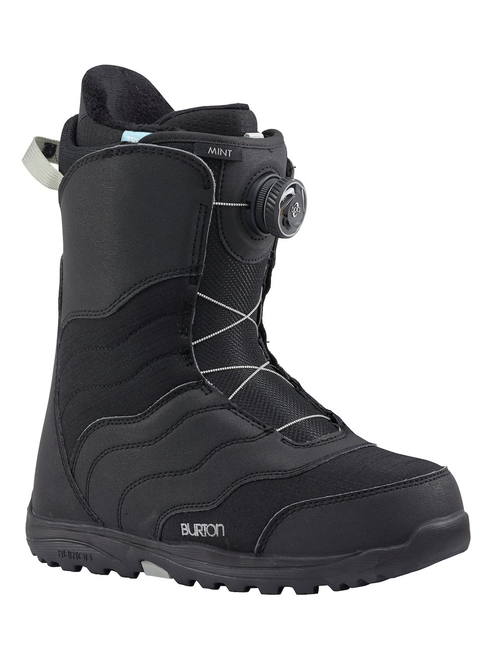 Burton(バートン) スノーボード ブーツ レディースウィメンズ MINT BOAR 2017-18モデル 5~10 131771 スノボ ボア B06X9XNX3K 6|Black Black 6