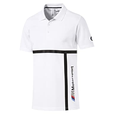 61f02fbd PUMA Men's BMW M Logo Motorsport Polo at Amazon Men's Clothing store:
