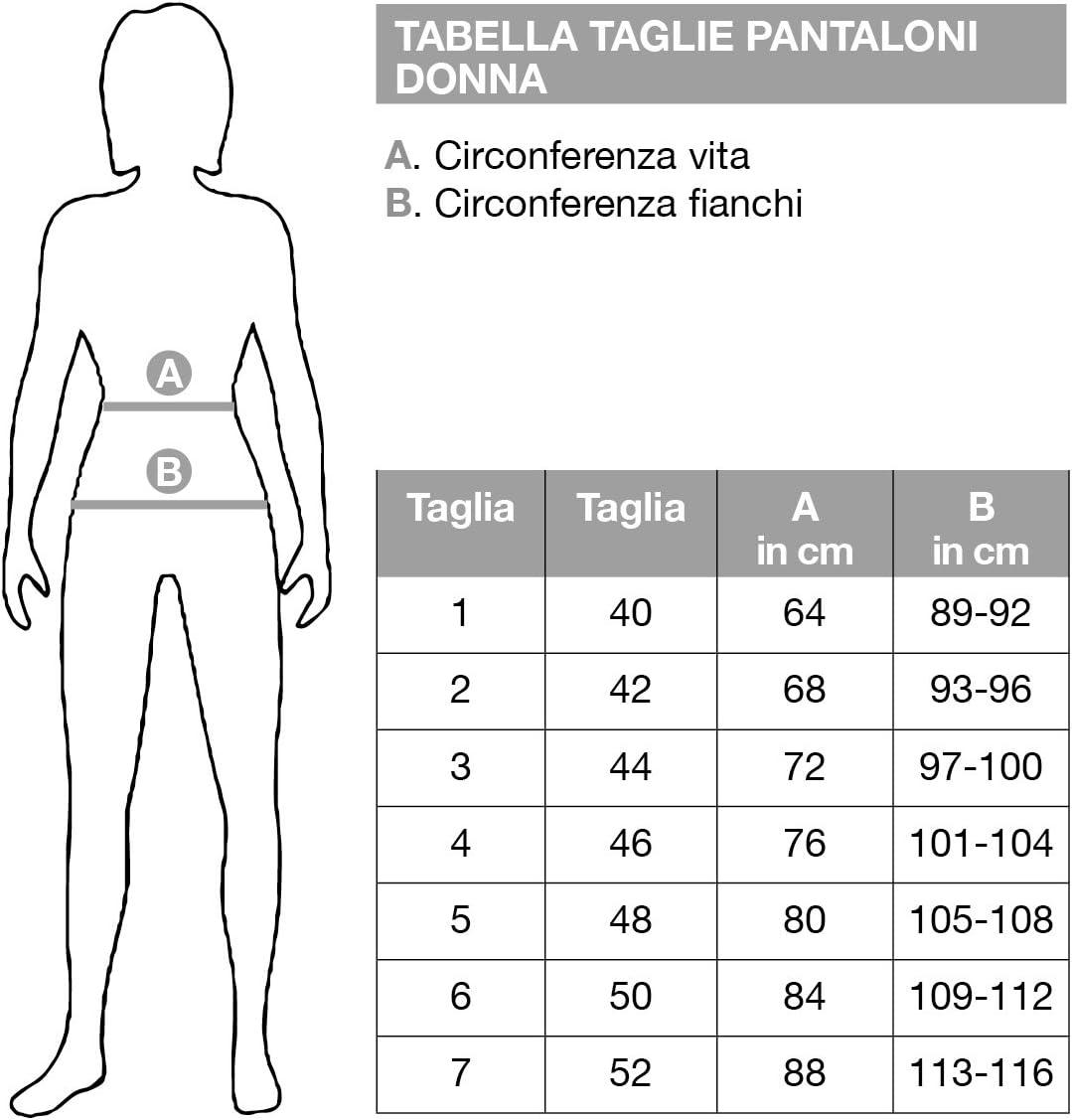 RAGNO Pantalone Sigaretta in Compact Summer 100/% Comfort Art.D293PS