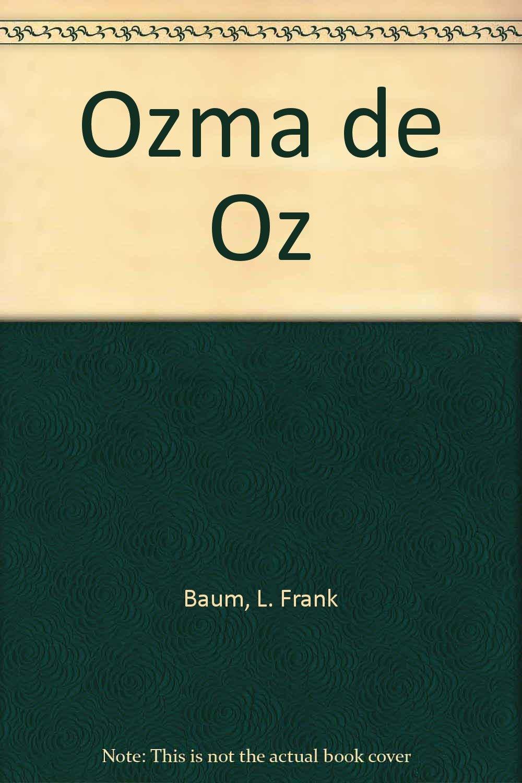 Ozma De Oz/ozma Of Oz