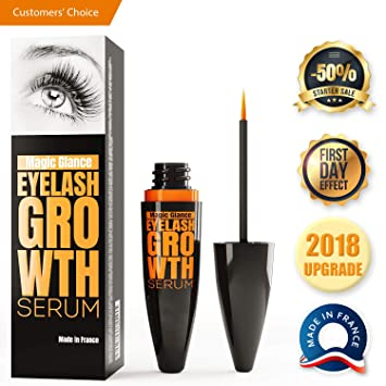 cf1f83afc75 Natural Eyebrow and Eyelash Growth Serum Boost Enhancer for Long, Full,  Thick & Luscious