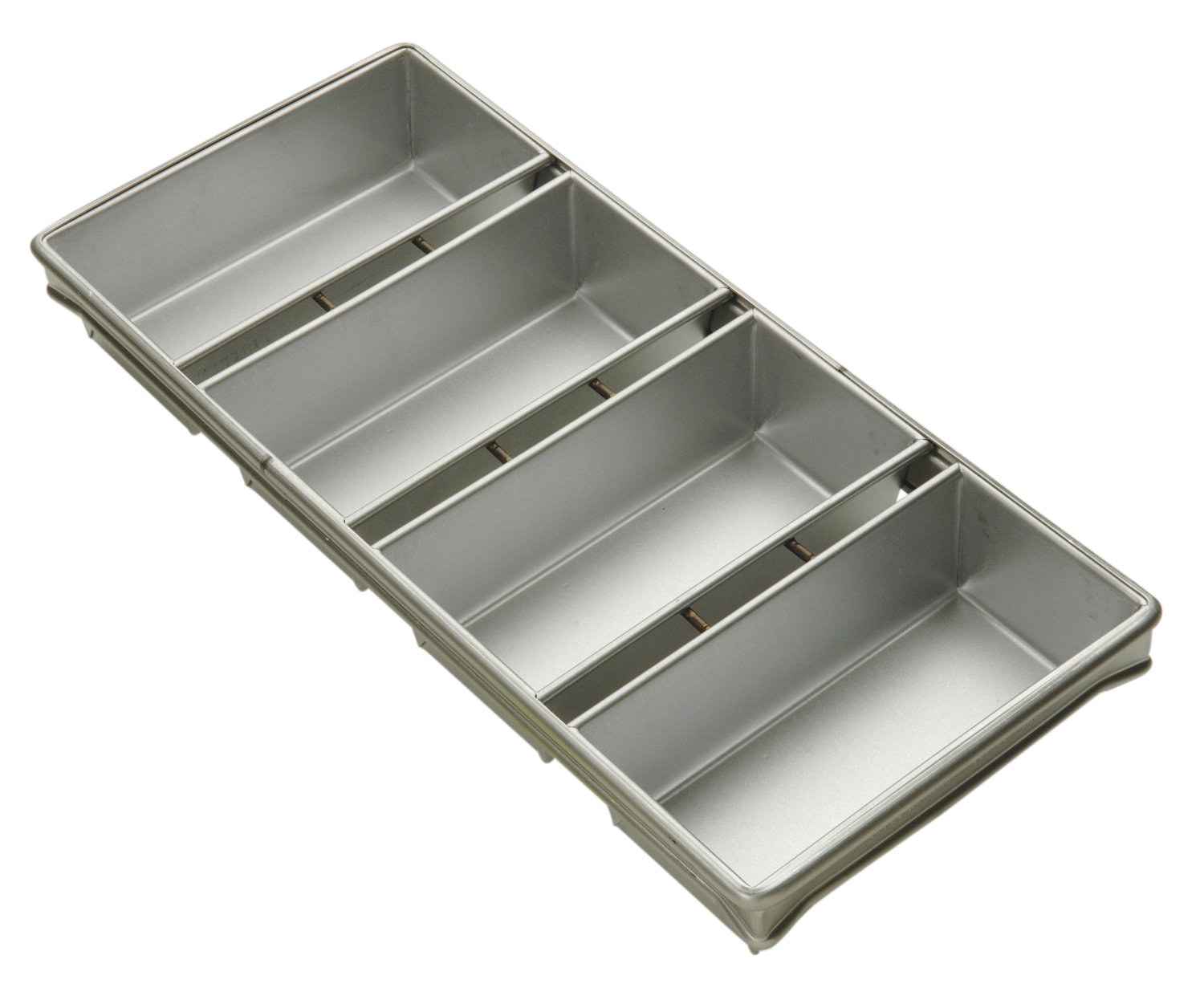 Focus Foodservice Commercial Bakeware 4 Strap 10 by 5-Inch Bread Pan Set by Focus Foodservice