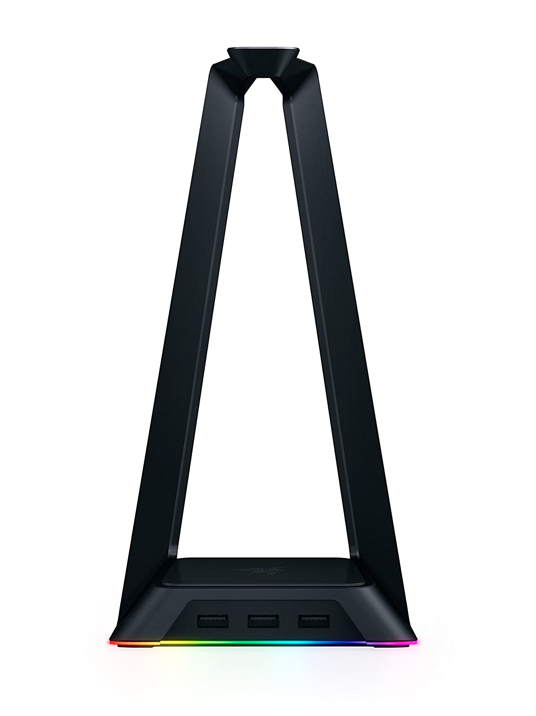 Razer Base Station Chroma - RGB Enabled Headset Stand with USB Hub - 16.8 Million Color Combinations Razer Inc. RC21-01190100-R3M1
