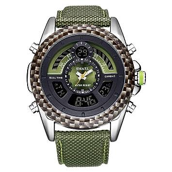 Blisfille Reloj de Luz Relojes Digitales Sumergibles Relojes Digitales y Sumergibles Reloj Mujer Dorado Reloj para