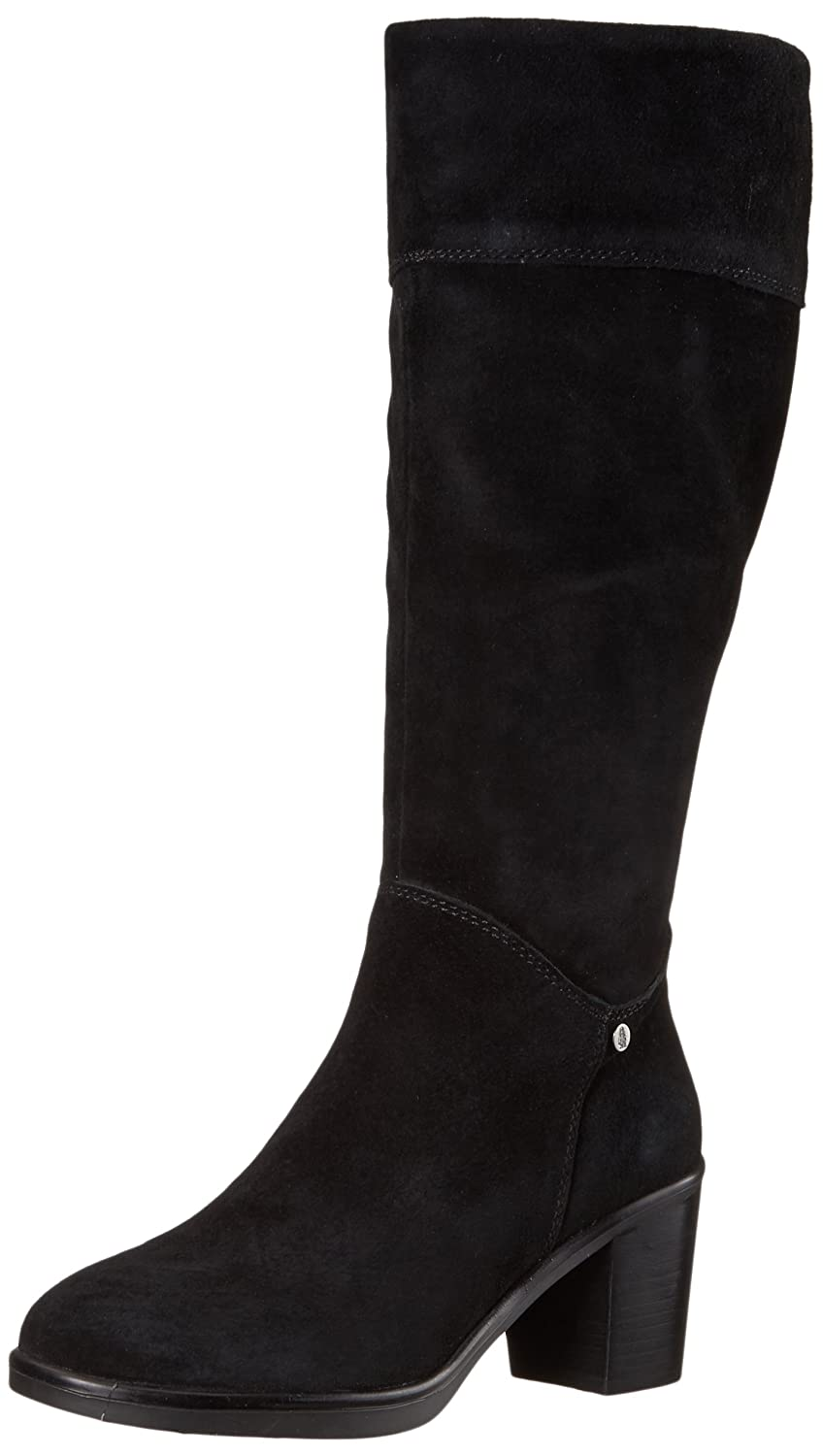 Hush Puppies Women's Saun Olivya Boot B01MZFB335 7 B(M) US|Black