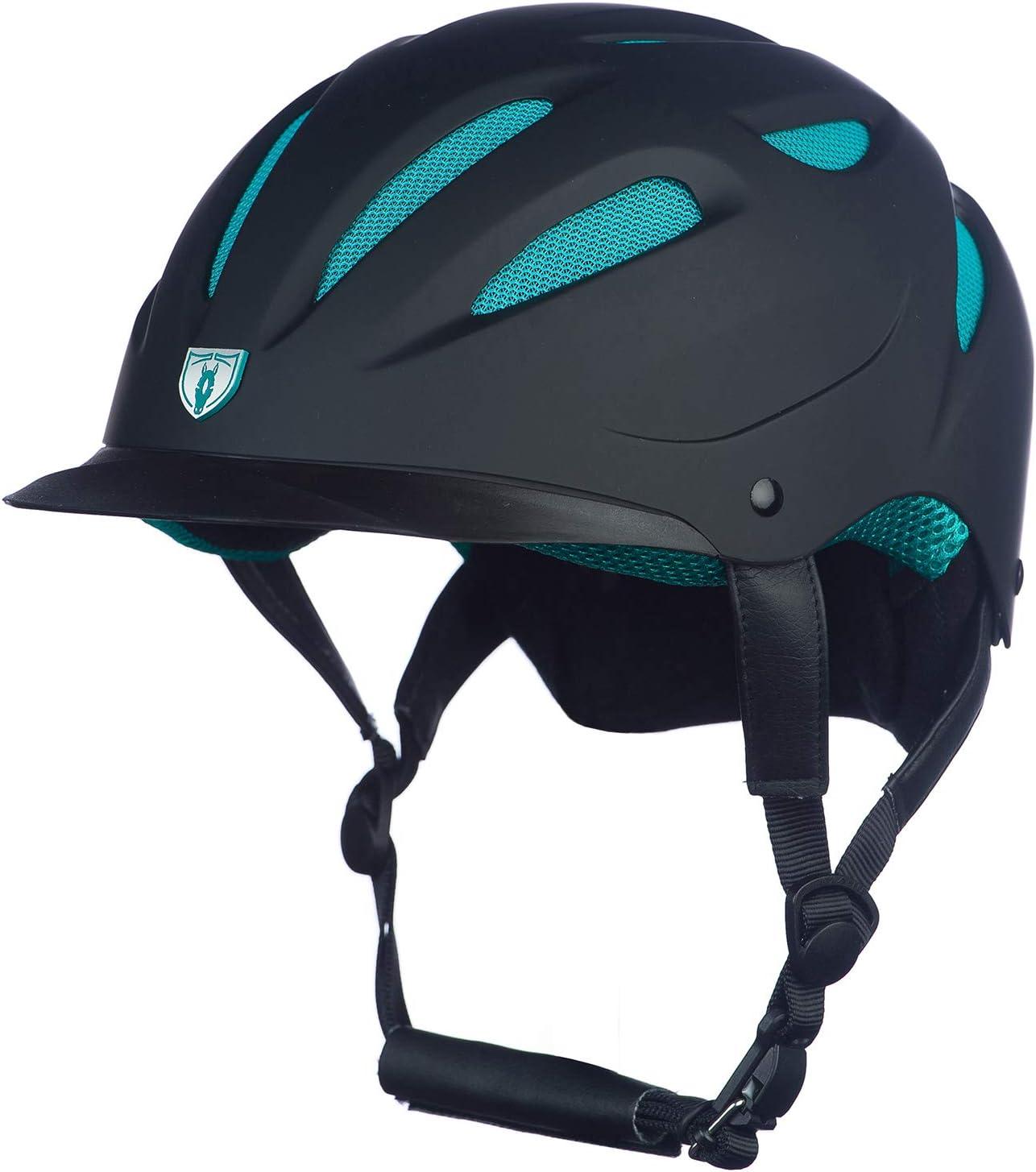 Tipperary Sportage Hybrid Helmet L Black//Teal