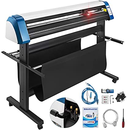 Amazon com: VEVOR Vinyl Cutter 53 Inch Vinyl Cutter Machine