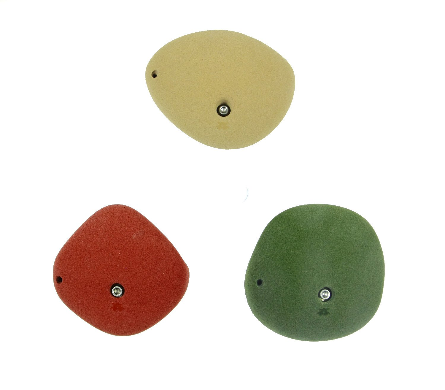 3 XXL Double Handers | Climbing Holds | Mixed Earth Tones