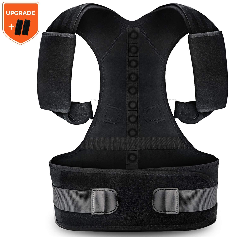 Posture Corrector for Men and Women KarmaRebirth Back Brace with Fully Adjustable Straps Shoulder