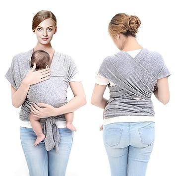 Tragetuch ELASTISCH Baumwolle Babytrage Babytragetuch  Babybauchtrage Bauchtrage
