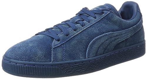 Puma Suede Classic Distressed, Scarpe da Ginnastica Basse Uomo, Blu (Sailor Blue), 39 EU