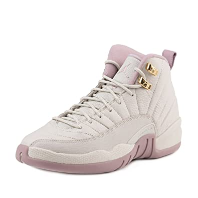 5294f866b8e ... reduced nike mens jordan 12 retro prem hc gg heiress light brown  metallic gold plum 22648
