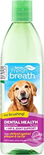 product image for Fresh Breath by TropiClean Oral Care Water Additive Plus Hip & Joint for Pets, 16oz - Made in USA
