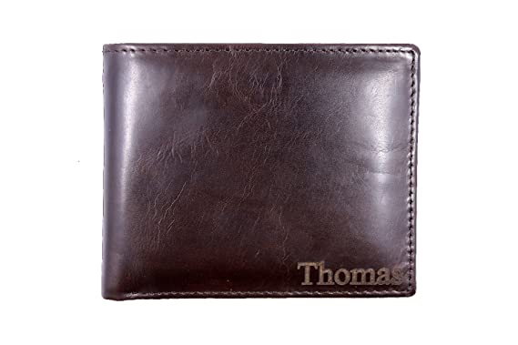 c13026452881 Personalized Mens Leather Wallet