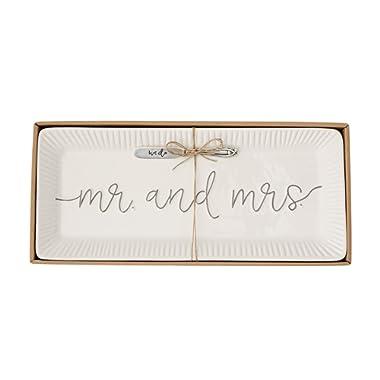 Mud Pie 4075127 Wedding Hostess Set, White
