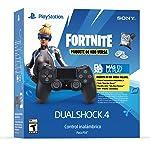PlayStationDS4 JET BLACK_FORTNITE_FY19_LATControlador inalámbrico DUALSHOCK 4 - PlayStation 4 Special Limited Edition
