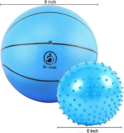 Amazon.com: A-zoe Balón de baloncesto de agua para piscina ...
