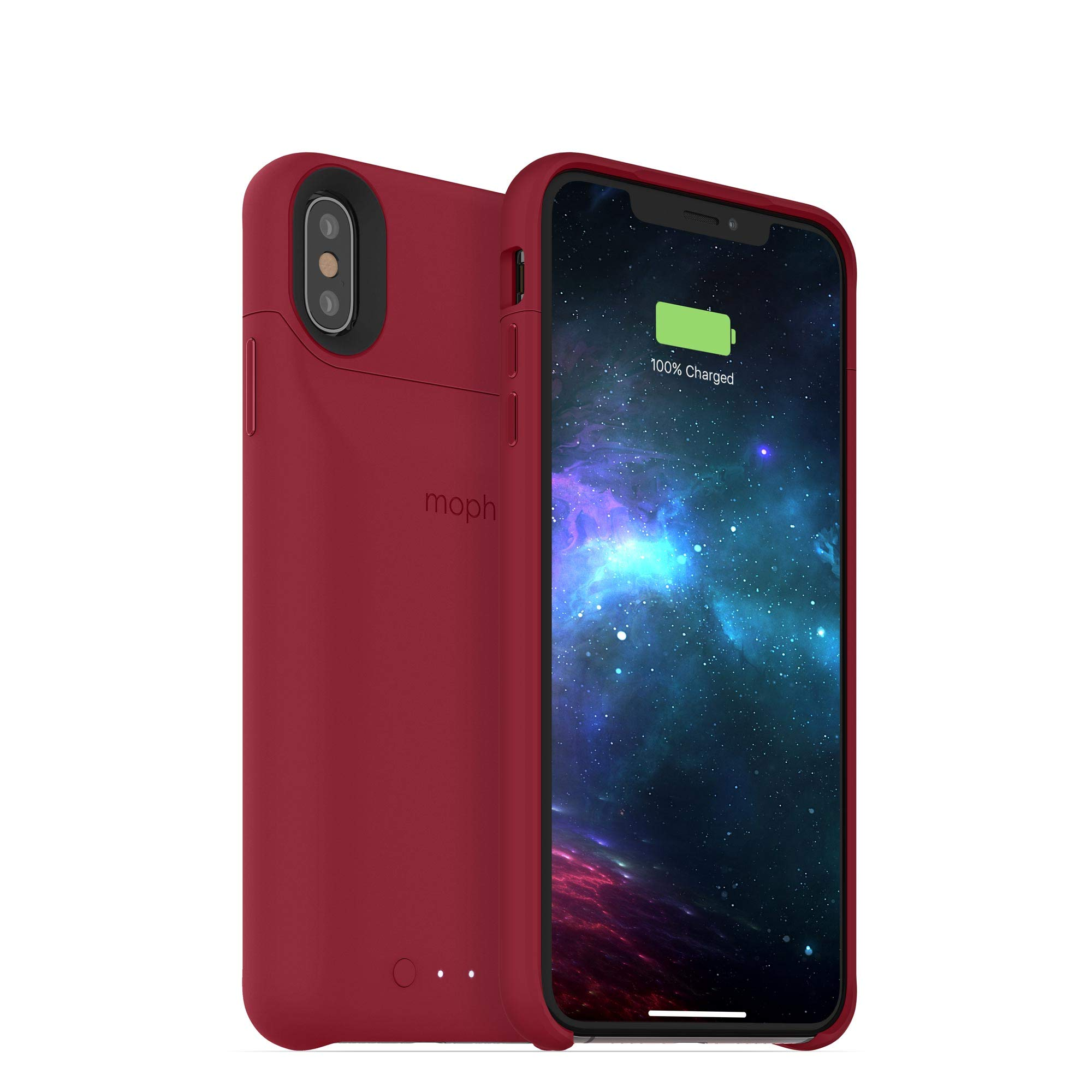 mophie Juice Pack Access Battery Case Made for Apple iPhone Xs Max (2,200mAh) - Dark Red