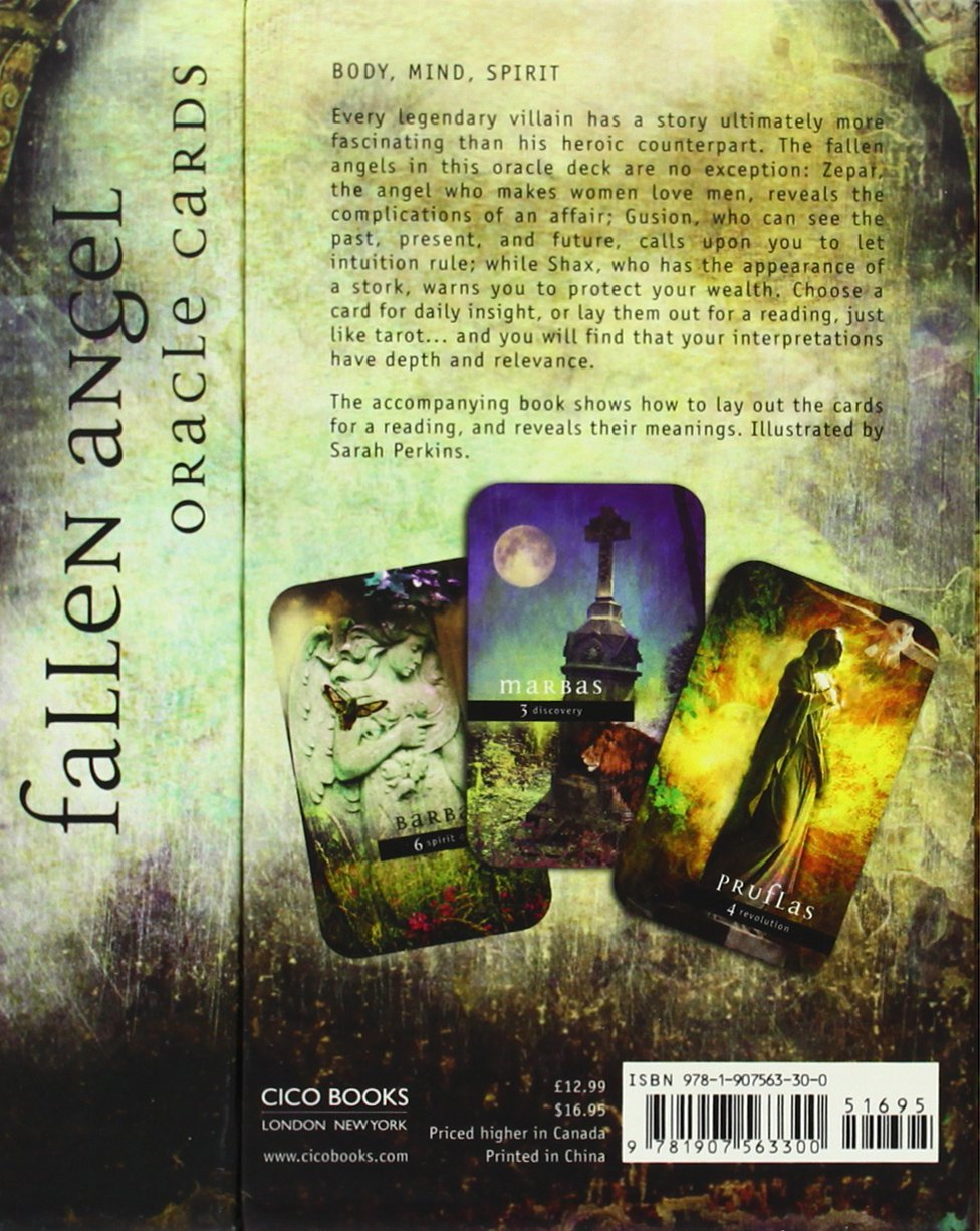 Fallen Angels Oracle Cards (72 Cards): Nigel Suckling: 9781907563300:  Amazon: Books