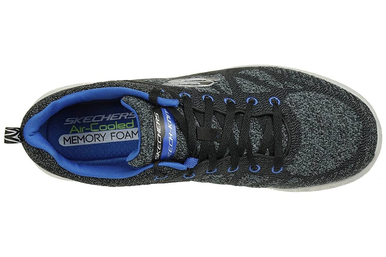 Skechers Burst Athis Skech Men's Fitness Trainers black blue trainers, pointure:eur 42