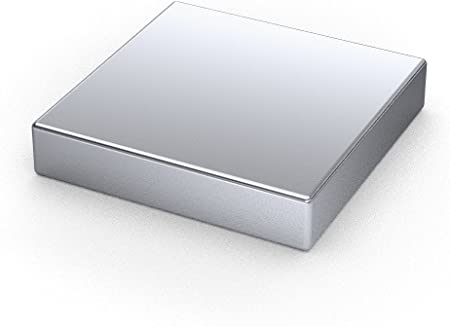 1 x Bloques magnéticos de neodimio | Imán / Imanes | 30 x 30 x 10 mm | niquelados (NiCuNi) | Fuerza de sujeción (fza. sujec.): aprox. ~27 kg | 1 uds. Bloque magnético: Amazon.es: Hogar