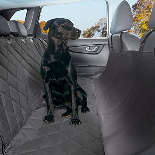 Plush Paws Pet Seat Cover Waterproof SUV back Seat Cover