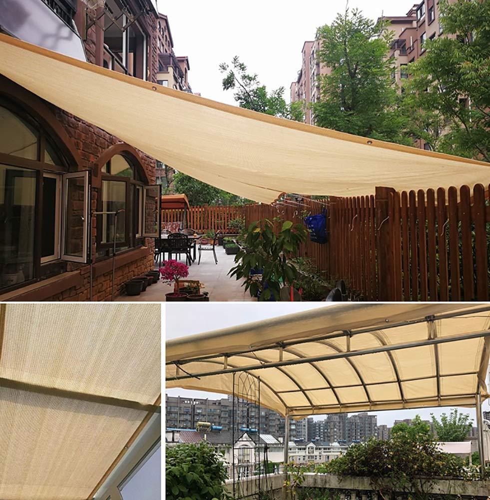 Camping Outdoor Zelte Außenmarkise Sonnenschutznetz, Verschlüsselter Balkon Garten Sonnenschutzisoliernetz, Staubdichte Außenmarkise Zelte ++ (größe   3x5m) 724139
