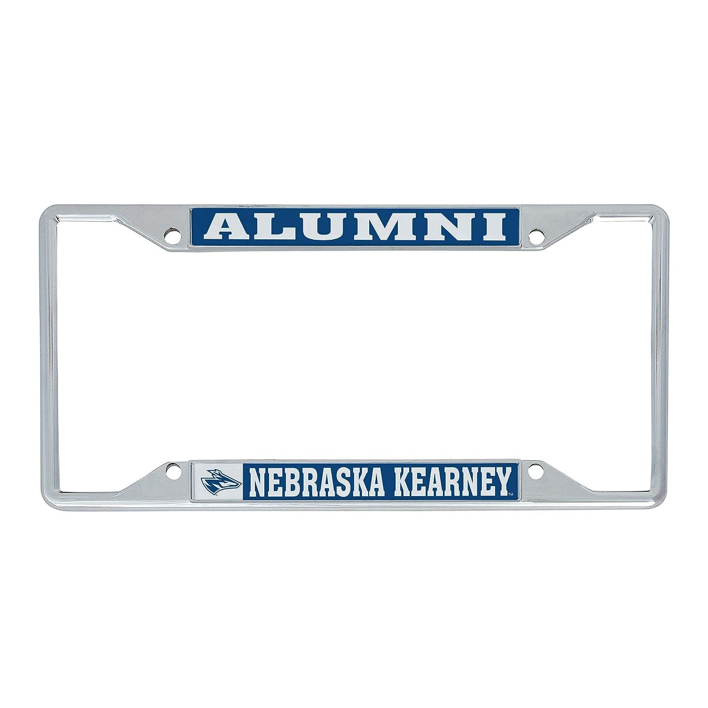 Alumni Desert Cactus University of Nebraska at Kearney UNK Lopers NCAA Metal License Plate Frame for Front Back of Car Officially Licensed