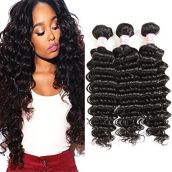 Ms Taj Brazilian Virgin Hair Deep Wave A Unprocessed Deep Wave Human Hair Weave