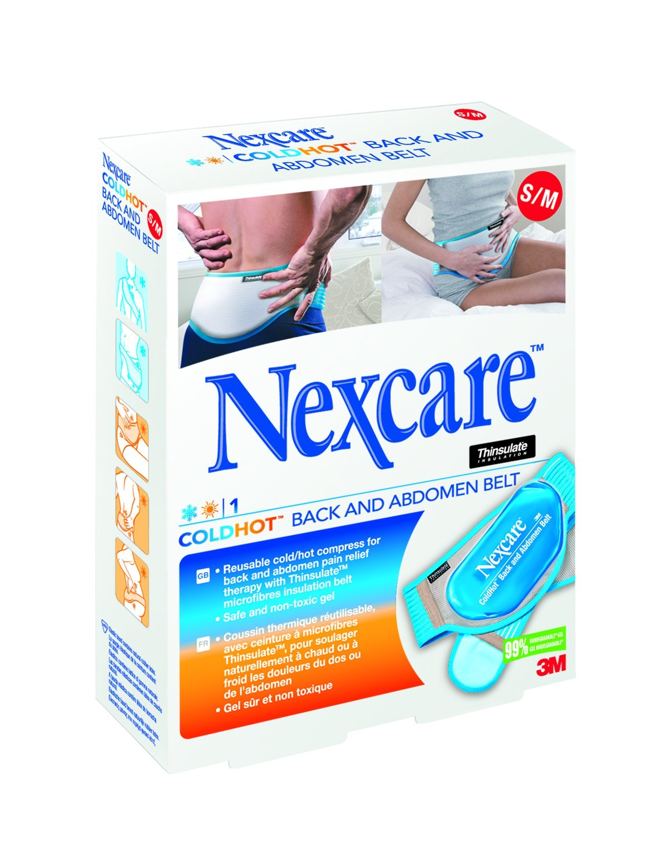 Nexcare Small/Medium ColdHot Back and Abdomen Belt by Nexcare