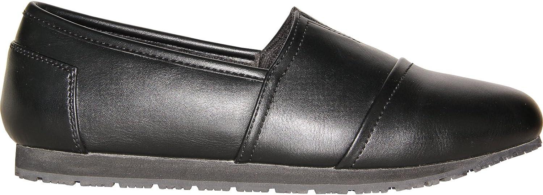 VANGELO Professional Slip Resistant Women Work Shoe Isana Black