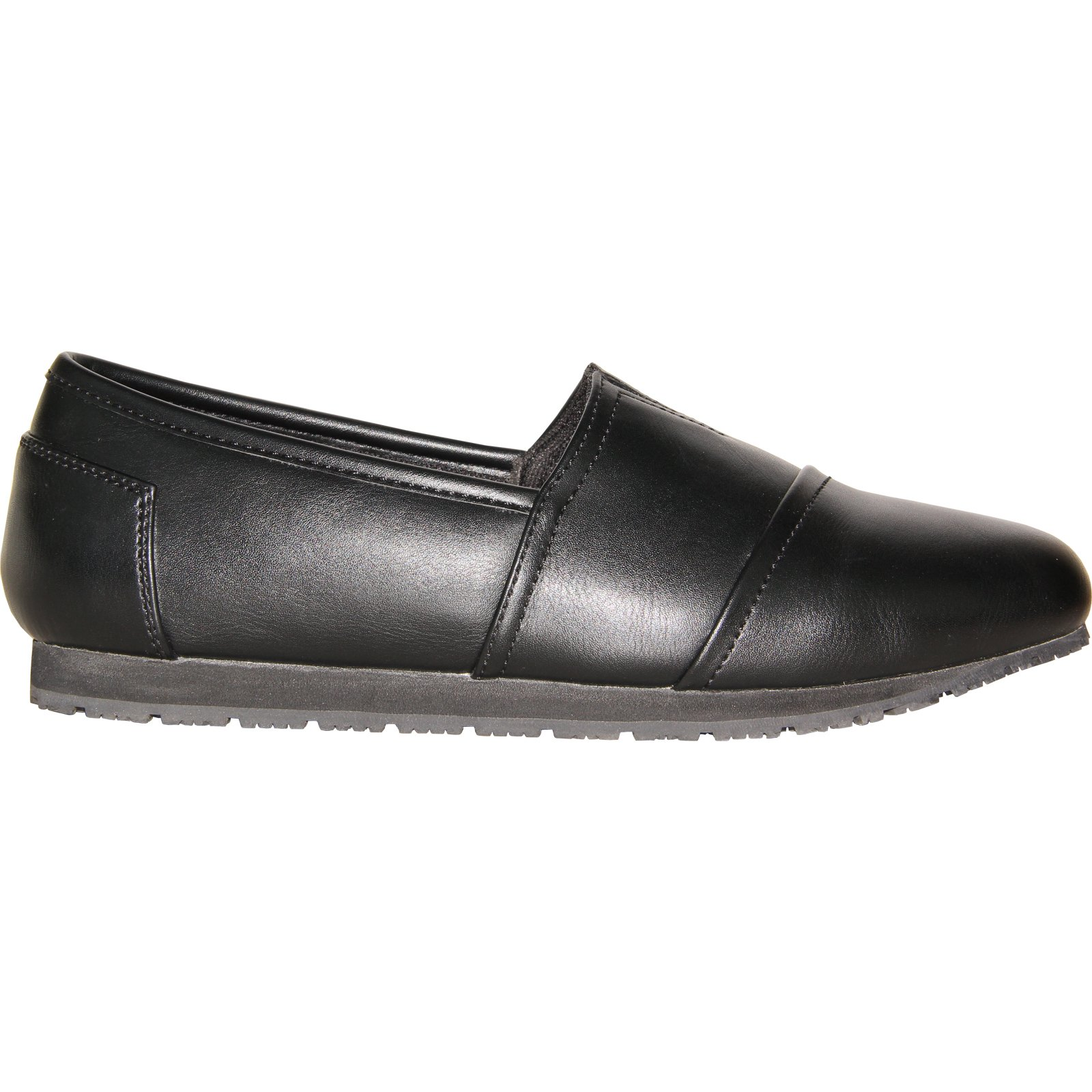 VANGELO Professional Slip Resistant Women Work Shoe Isana Black by VANGELO (Image #4)