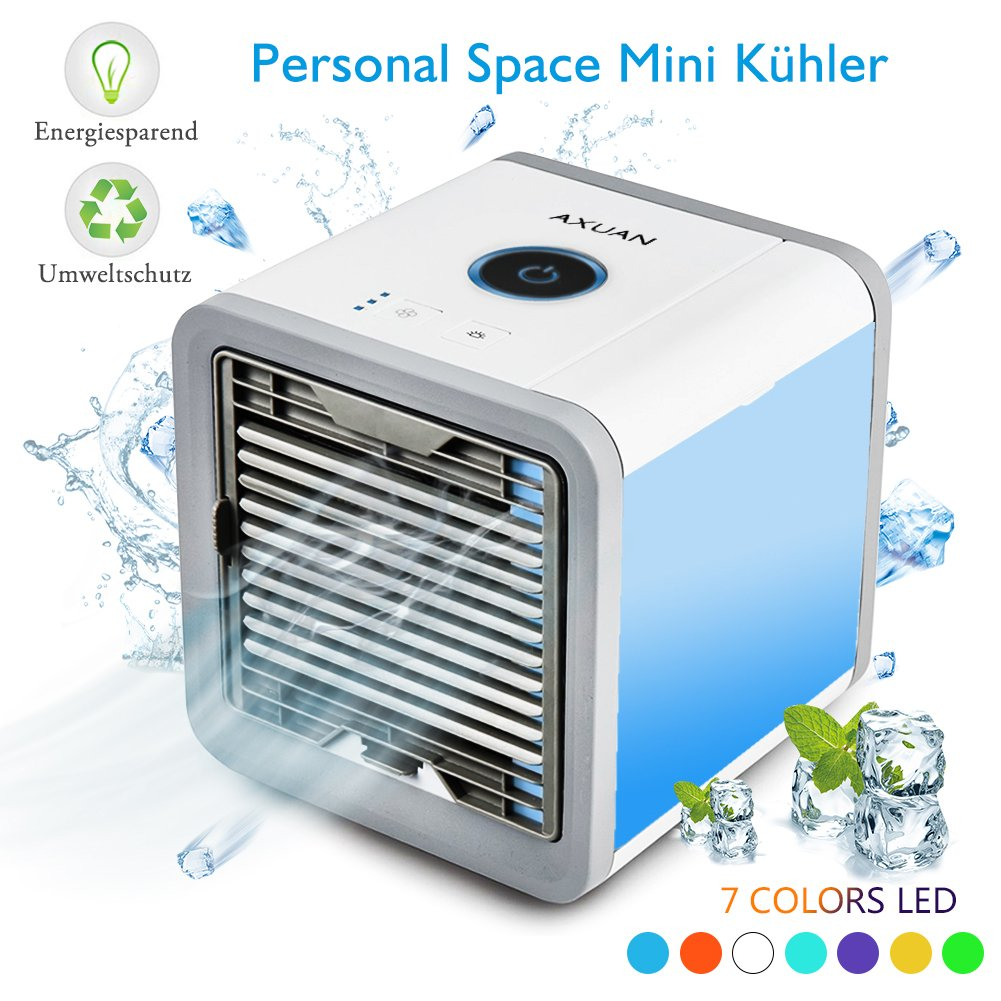 Air Conditioner, Air Cooler Personal Portable Air Humidifier & Purifier Air Cooler for Home AXUAN
