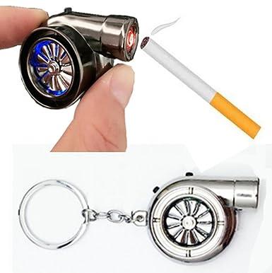 Cargador Mechero Turbo regalo Gadget Spinning turbina motor 2 sonidos UK