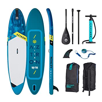 "Aztron Titan Tabla de Paddle Surf Hinchable Premium 11"" 11""x32""x6"""