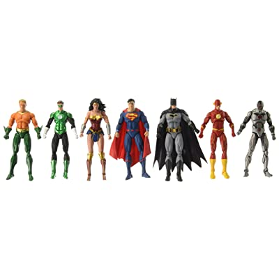 DC Rebirth: Justice League of America Action Figure 7-Pack: Toys & Games