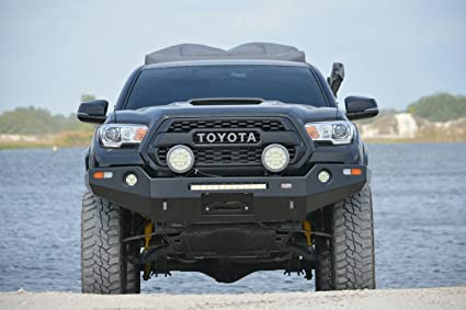 Toyota Tacoma Bumper >> Amazon Com Dobinsons 4x4 Front Winch Bumper For 2016 To
