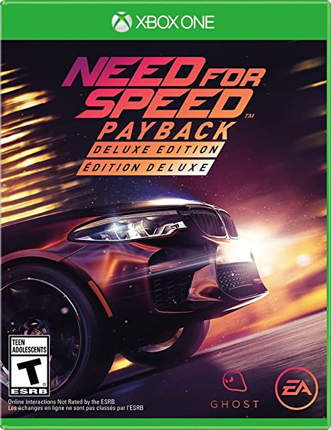 Amazon Com Need For Speed Payback Deluxe Edition Xbox One Need For Speed Payback Deluxe Edition Video Games